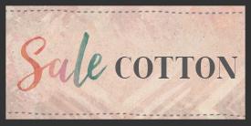Sale - Cotton