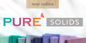 PURE Solids - NEW COLORS