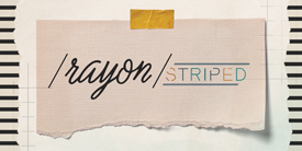 Rayon - STRIPED