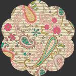 Paisleys Forever Rosa in Knit