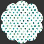 Dots Tile Fresco in Knit