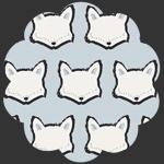 Clever Little Fox in Knit