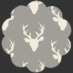 Buck Forest Mist in Knit