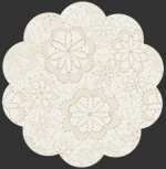 Lace in Bloom Cloud