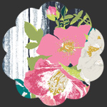 Flowerful Dandle Panel