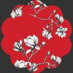 Magnolia Study Silkroad in Rayon