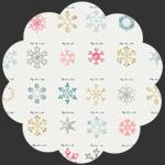 Snow Crystals Jolly