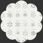 Snow Crystals Ash