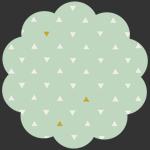 Triangle Tokens Metallic
