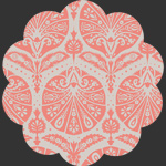 Coquille Damask Coral