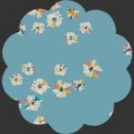 Hazy Daisies Sky