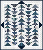 Temporarily out of stock Plenum Quilt - No.10 Midnight Ocean - FQ