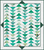 Temporarily out of stock Plenum Quilt - No.7 Emerald Stone - HY