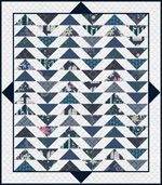 Temporarily out of stock Plenum Quilt - No.10 Midnight Ocean - HY