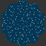 Night Sky in Rayon