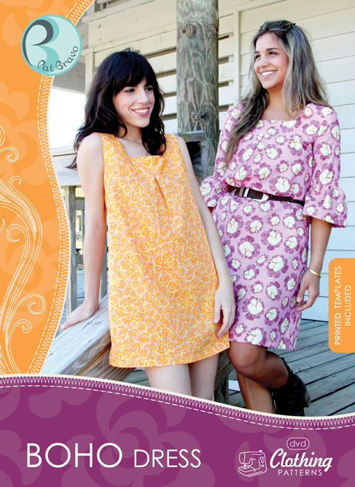 Boho Dress, CP-400, SEWING PATTERNS, Product Catalog, Art Gallery ...