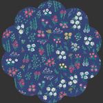 Floral Pigments Wet