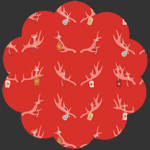 Cheerful Antlers