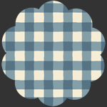 Plaid of my Dreams Sky in Flannel