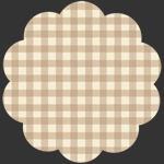 Temporarily out of stock  Small Plaid of my Dreams Creme