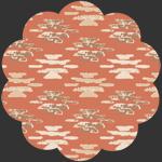 Woolen Blanket Rust in Flannel