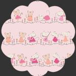 Minikin Friends Blush