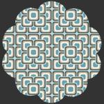 Grand Mosaic Blue