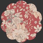 Floral Universe Auburn