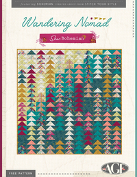 Wandering Nomad - Bohemian by AGF Studio